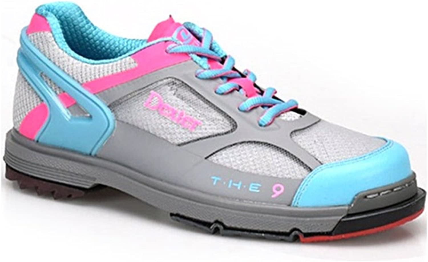 Dexter Womens SST The 9 Bowling shoes- Grey bluee Pink