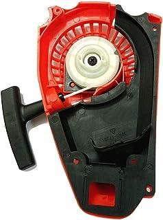 Calidad 1pcs Mejor Tirador de arranque de retroceso de inicio fit for 25cc 26cc la motosierra 2500 Motor Motor Peso (Color : Red)