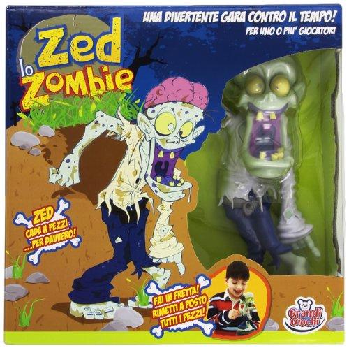 Grandi Giochi GG00122-Zed Lo Zombie, Multicolore, 826003