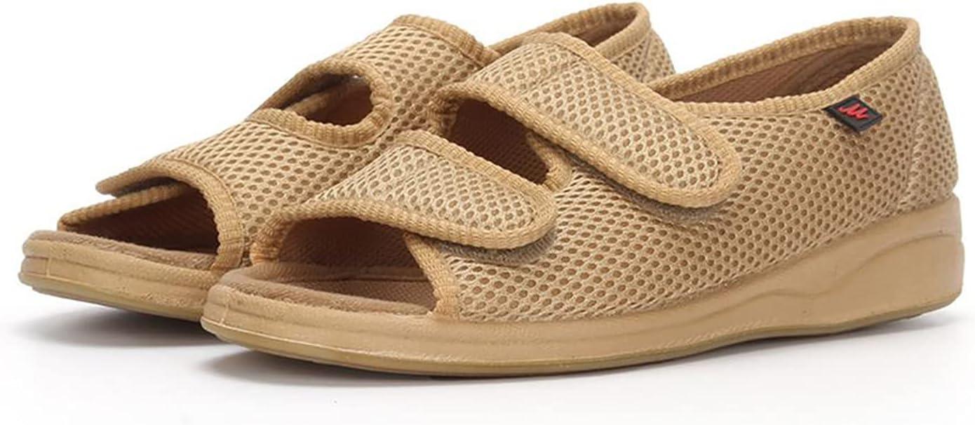 Women's Diabetic Sandals favorite Open Toe Width Adjustable Arthritis depot Ede