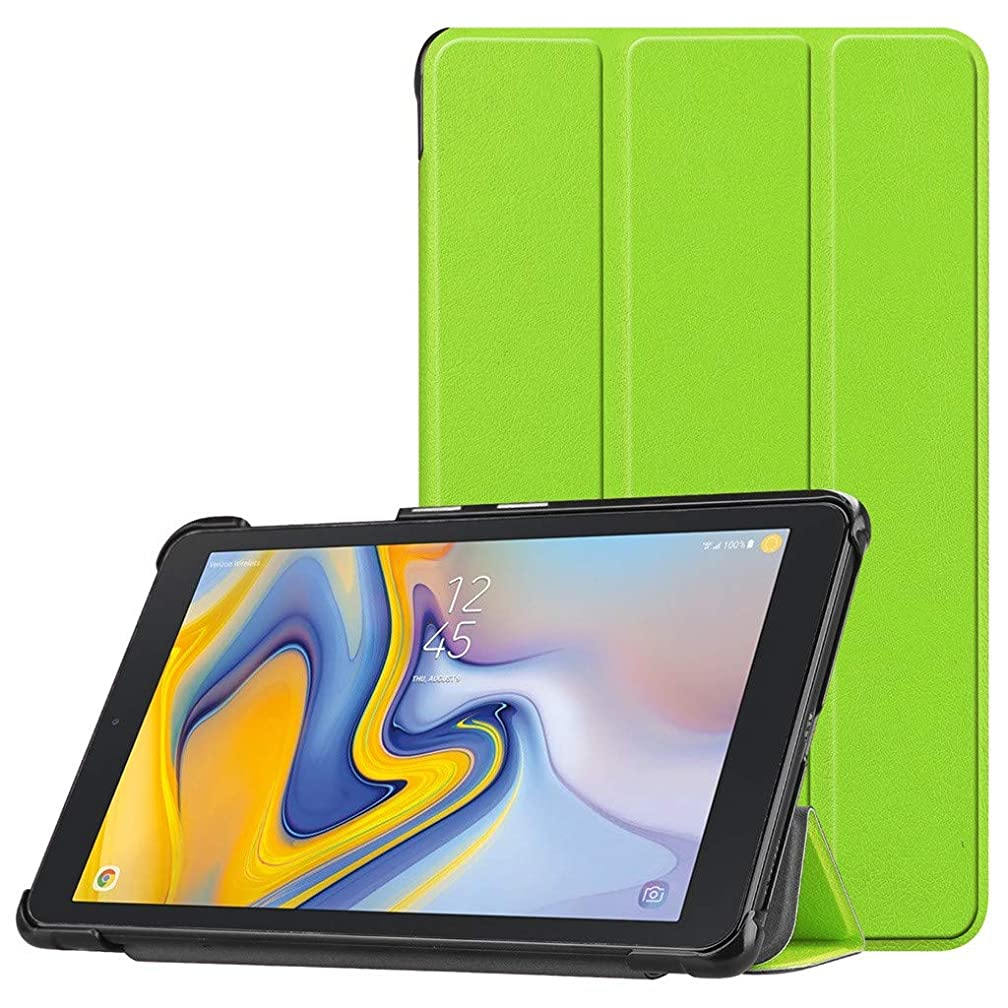 [Auto Sleep/Wake] Ultra Thin Trifold Case for Samsung Tab A 8.0 inch, Renzhe Multi Choice Folding Stand Cover, Corner Protection Shockproof Cover for Samsung Tab A