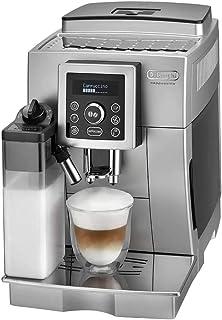 De'Longhi 1450 Watts Coffee, Espresso and Cappuccino Maker - Silver, ECAM 23.450.S