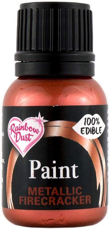 Rainbow Dust Edible Food Paint METALLIC FIRECRACKER Cake Decorating Sugarcraft