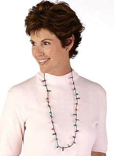 DM Merchandising Lotsa Lites Christmas Flashing Holiday Bulb Necklace 36 pk