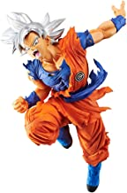 Ultra Instinct Son Goku: ~7.1 Super Dragonball Heroes x Transcendence Art Statue Figurine Vol.4 + 1 Official Dragonball Trading Card Bundle (39185)