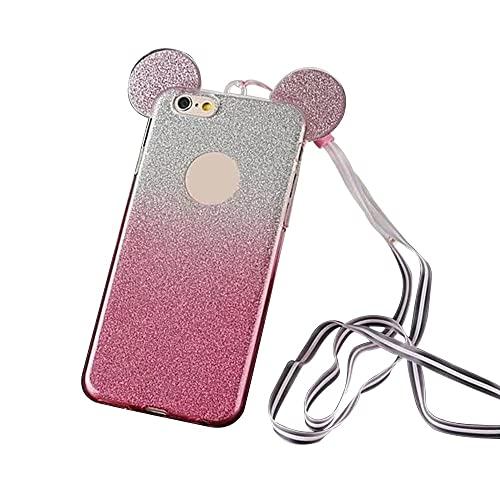 premium selection ca46a f494a Phone Case iPhone 5 SE Disney with Glitter: Amazon.co.uk