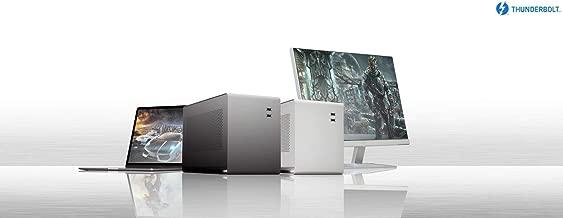 Mantiz Venus MZ-02 External Graphic Enclosure eGPU- Thunderbolt 3 MacOS/Windows/Intel Thunderbolt Certified External Graphic Box with SATA Interface, Extra IO Ports & PD 87W to Laptop 2018 MBP
