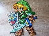 Sprite Link • The Legend of Zelda ( Majora's mask, Twillight princess, Ocarina of time, four sword.. ) • Hama Beads • Pixel Art