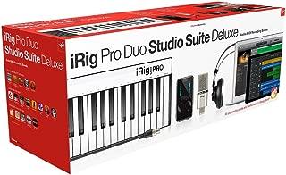 IK Multimedia iRig Pro Duo Studio Suite complete recording bundle for iPhone, iPad & Mac/PC, interface