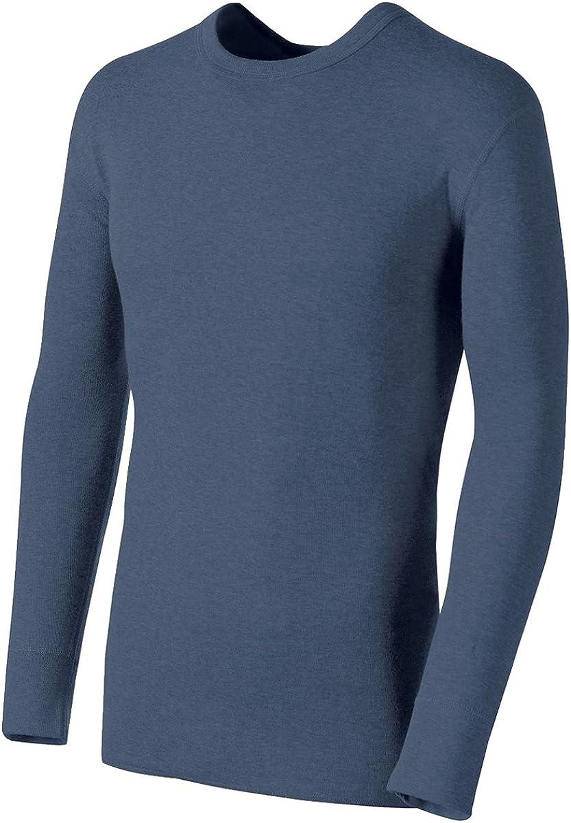 Champion Duofold by Originals Wool-Blend Men's Thermal Shirt, Blue Jean, XL