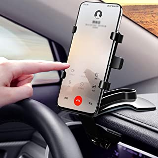Car Phone Mount 360 Degree Rotation Dashboard Cell Phone Holder for Car Clip Mount Stand Suitable for 4 to 7 inch Smartphones