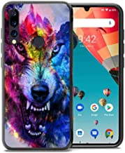 for Umidigi A5 Pro Case, ABLOOMBOX Shockproof Slim Thin Soft Flexible TPU Silicone Protective Cover for Umidigi A5 Pro Galaxy Wolf