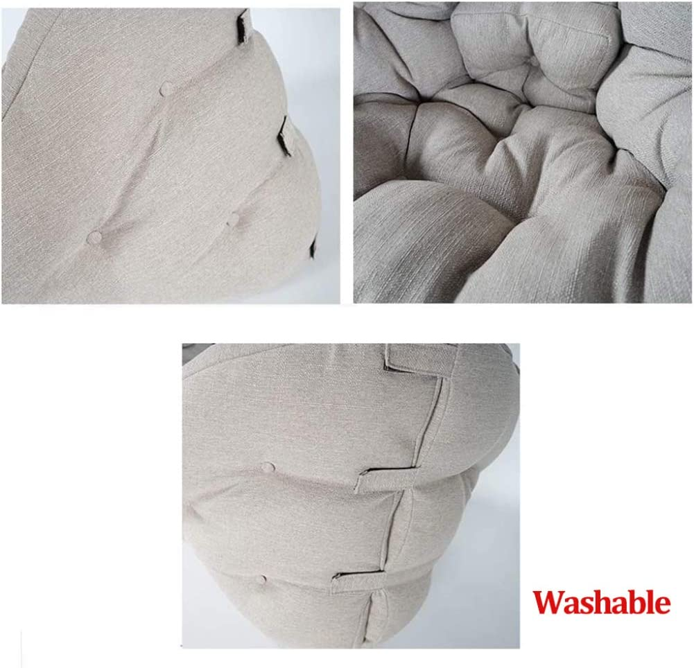 LCAZR Chaise Soft Tatami siège Japonais Rabattable et réglable pour futon Japonais H