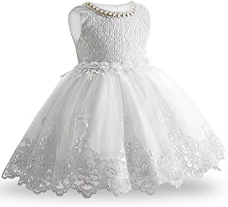 Baby Girls Dress Formal Gowns Pageant Birthday Lace Wedding Dress Toddler