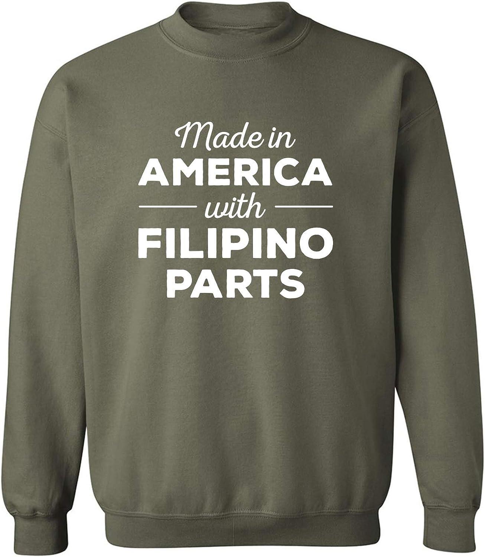 Made In America w/ Filipino Parts Crewneck Sweatshirt
