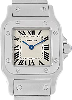 Cartier Santos Galbee Quartz Female Watch W20056D6 (Certified Pre-Owned)