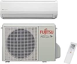Fujitsu 15,000 BTU Wall Mounted Single Zone Mini Split ductless Heat Pump - Built in WiFi- 33.0SEER- 15RLS3Y
