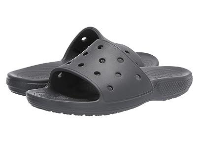 Crocs Classic Slide (Slate Grey) Shoes