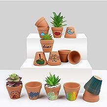 Aytai 32pcs Clay Pots, 2'' Terra Cotta Pots Ceramic Pottery Planter, Terracotta Pots Mini Clay Flower Pots, Cactus Succule...