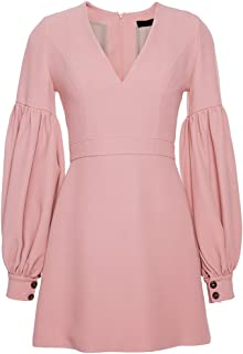 Alexis Ellena Pink Blouson Dress