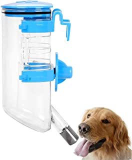 MAKINGTEC Dog Crate Water Bottle Cat Water Bottle for Cage Pet Automatic Water Dispenser Kennel Cage Water Bottle Hanging ...