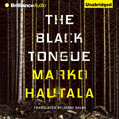 The Black Tongue audiobook cover art