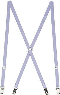 SuspenderStore Men's Skinny Suspenders for Adults - 1/2 Inch Wide, Clip