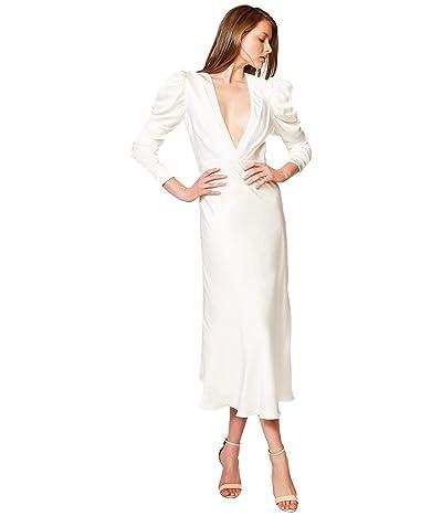 Bardot Zaria Midi Dress (Ivory) Women