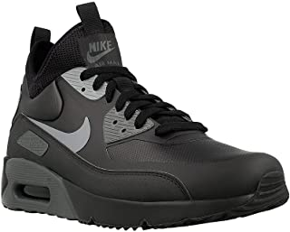 Mens Air Max 90 Mid Winter Sneakerboots Sneaker Boots New, Black/Gray 924458-002