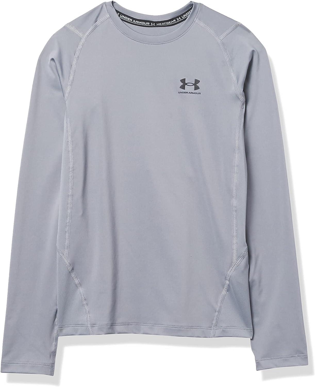 Seattle Mall Under Armour Boys' free shipping Long-Sleeve T-Shirt HeatGear