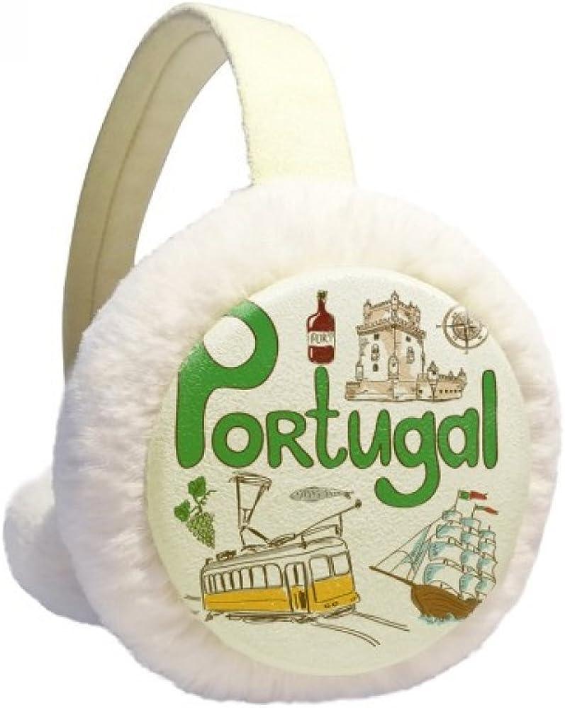 Portugal National Manufacturer direct delivery symbol Landmark Pattern Warmer Baltimore Mall Cabl Ear Winter