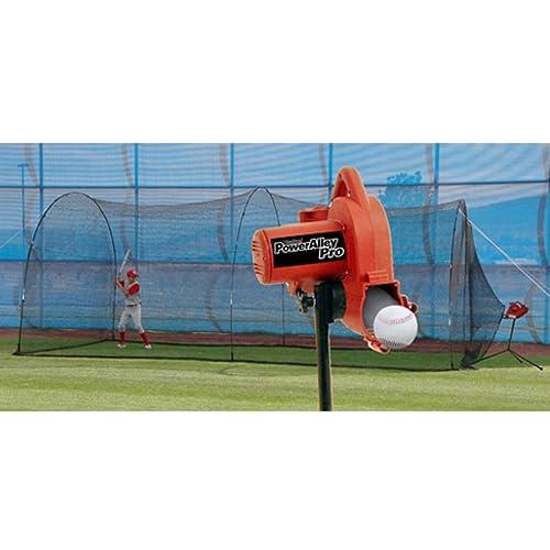 Batting Cage With Pitching Machine Amazon Com