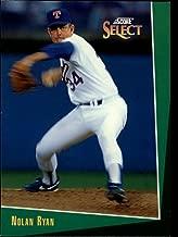 1993 Select Baseball Card #90 Nolan Ryan
