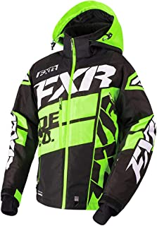 FXR Boost X Jacket Authentic ACMT HydrX Pro DVS Thermal Dry Snowmobile - Black/Lime/White - XX-Large