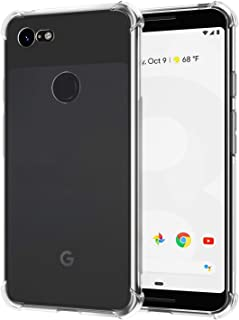 Google Pixel 3 Case, [2 Pack] SPARIN Google Pixel 3 Case with Precise Cut-Out/Camera Protection/Scratch Resistance/Anti Watermark/Soft Nature TPU, Clear