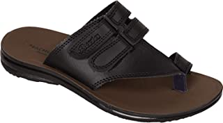 BATA Men Black Slip On Chappal Sandal