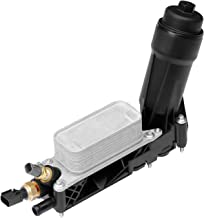 Engine Oil Cooler Oil Filter Housing Adapter Assembly   for 2011-2013 Dodge Jeep Chrysler 3.6L V6 Engine   Replaces# 5184294AE, 5184294AC, 5184294AD, 5184304AD, 5184304AE, 5184304AF