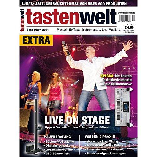 tastenwelt EXTRA: Live on stage - Tipps & Technik für Erfolg auf der Bühne - Wissen & Praxis - Kaufberatung