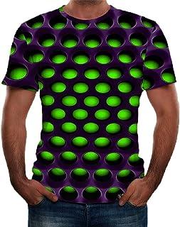 Breathable Short Sleeve Stripe Collar Button Shirt Summer Sweatshirt Tee Shirt Masculinous Gifts MISYAA Polo Shirts for Men