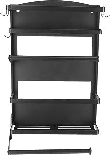Support de stockage de réfrigérateur, support d'absorption magnétique non perforant cuisine en acier au carbone organisate...