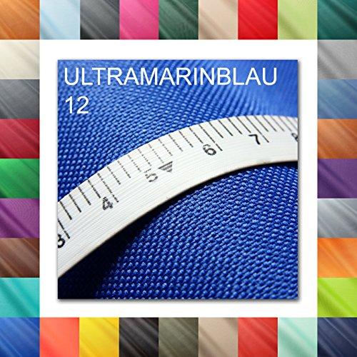 Wasserdichter Stoff Oxford Gewebe 600D outdoor Zeltstoff Planenstoff Wasserfest - Ultramarinblau (12)
