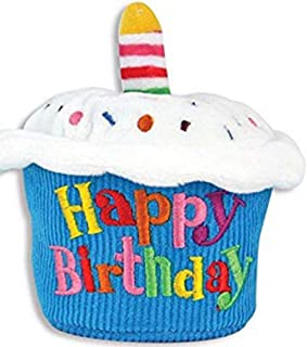 Cuddle Barn Birthday Cupcake Squeezer Lights Up and Plays Happy Birthday When Squeezed (Classic)