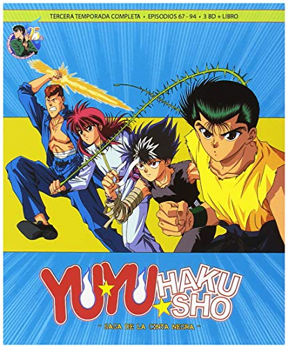 Yu Yu Hakusho Box 4 Episodios 67 A 94 (28ep) La Saga De La Cinta Negra Blu-Ray [Blu-ray]