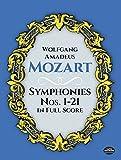 Mozart: Symphonies Nos. 1-21 in Full Score