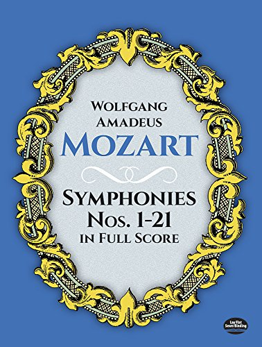mozart later symphonies dover - 3
