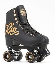 Rio Roller Rose rolschaatsen, zwart-goudkleurig, dames