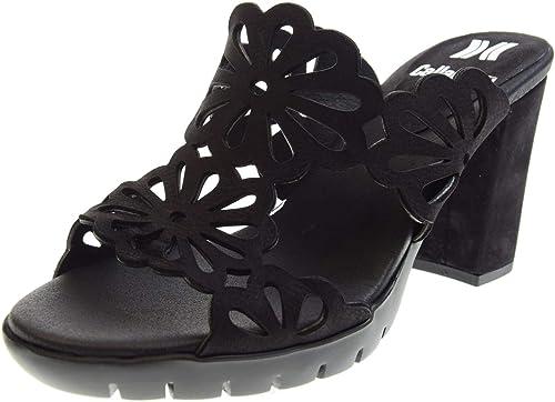 CALLAGHAN Sandalias de Zapato de damen Sabot 99113 schwarz