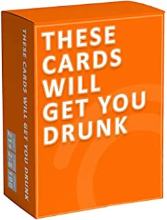 The Cards Will Get You Drunk The card that makes you drunk Cocktail party board game card English Board Game for Family Fr...