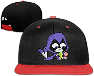 Kid's Teen Titans Go and Raven Hats Caps