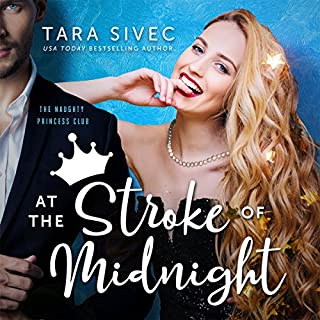 At the Stroke of Midnight audiobook cover art
